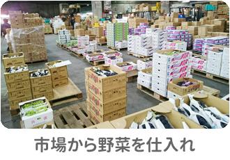 市場から仕入れ:ヨシケイ